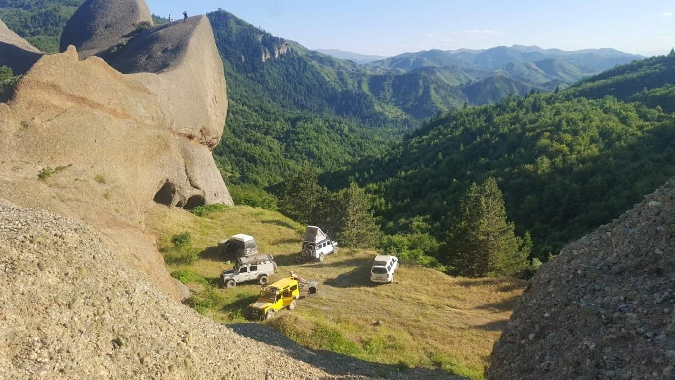 Bredhi i Drenoves ist ideal für Outdoor-Aktivitäten und Camping geeignet. Foto: Bredhi i Drenoves National Park