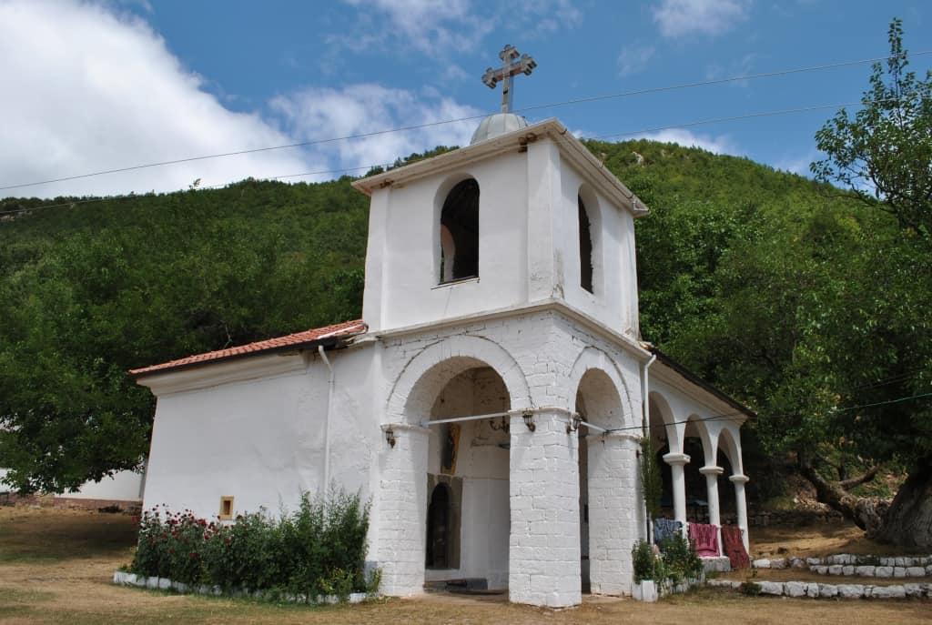 Shen-Marena-Kirche (Kulturdenkmal) | Foto: Schutzgebiet Pogradec – Ohridsee