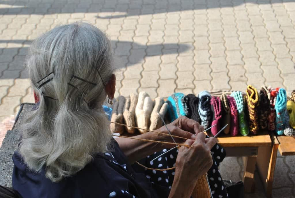 Handarbeiten | Foto: Schutzgebiet Pogradec – Ohridsee