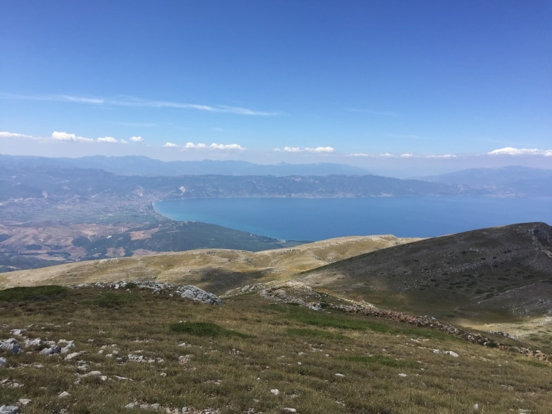 Mali i Thate (Dry Mountain) hiking trail | Photo: Protected Area of Pogradec – Lake Ohrid