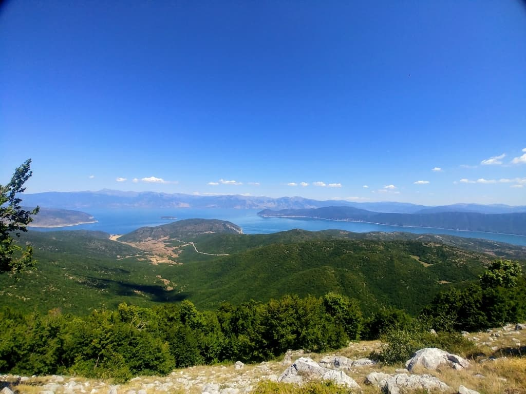 Panoramic iew of Prespa Lake | Photo: Prespa National Park