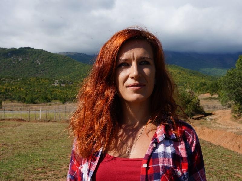 Cveta Trajçe, nature tour guide Prespa National Park   Photo: Prespa National Park
