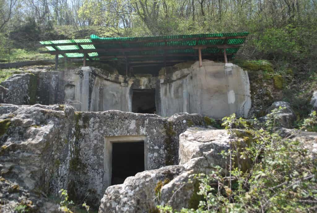 Grabanlage von Selca (Kulturdenkmal) | Foto: Schutzgebiet Pogradec – Ohridsee